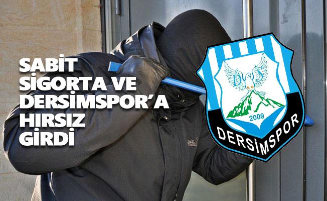 Dersimspor'a hırsızlık şoku! 27 bin lira...