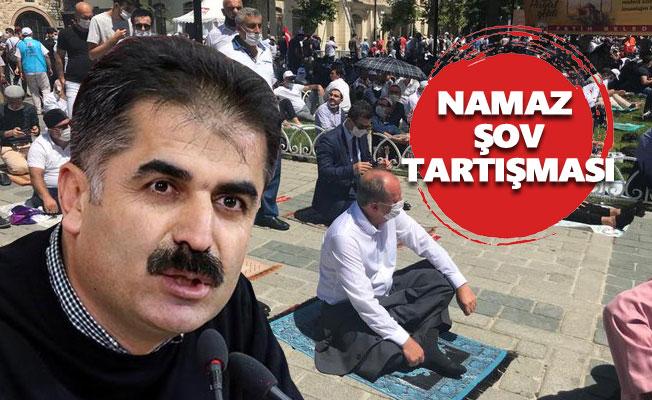 """Hüseyin Aygün'den Muharrem İnce'ye: """"Namaz şov"""""""