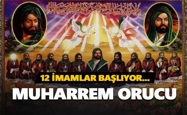12 imamlar başlıyor... (Muharrem Orucu)