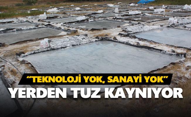 400 yıldır geleneksel yöntemle kaya tuzu üretiyorlar