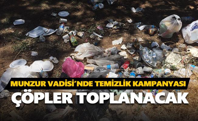 Munzur Vadisi'nde temizlik kampanyası