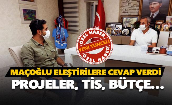 Fatih Mehmet Maçoğlu eleştirilere cevap verdi
