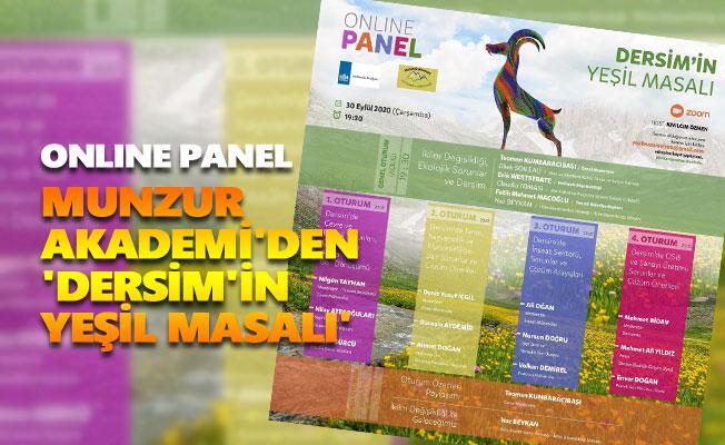 Munzur Akademi'den 'Dersim'in Yeşil Masalı'