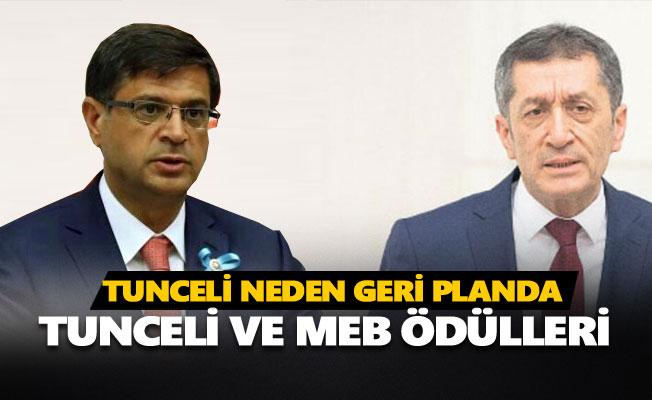 MEB ödüllerinde Tunceli neden geri planda