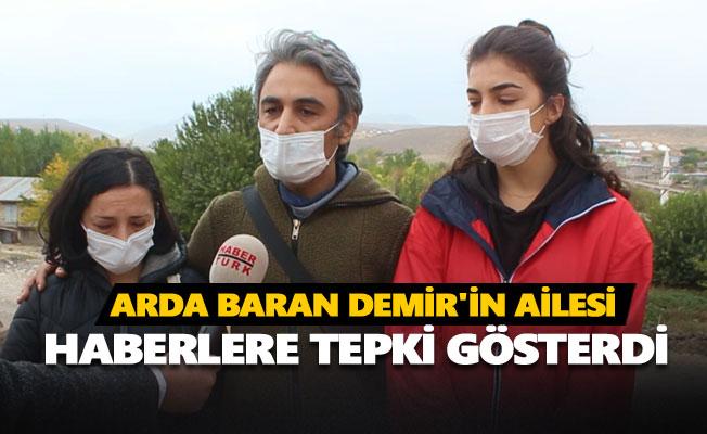 Arda Baran Demir'in ailesi sitem etti
