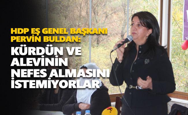 Pervin Buldan: Kürdün ve Alevinin nefes almasını istemiyorlar