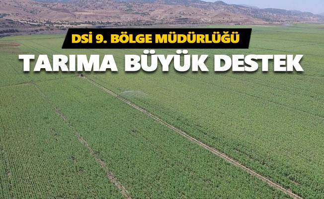 2020 yılında 532 bin 512 dekar tarım arazisi sulandı