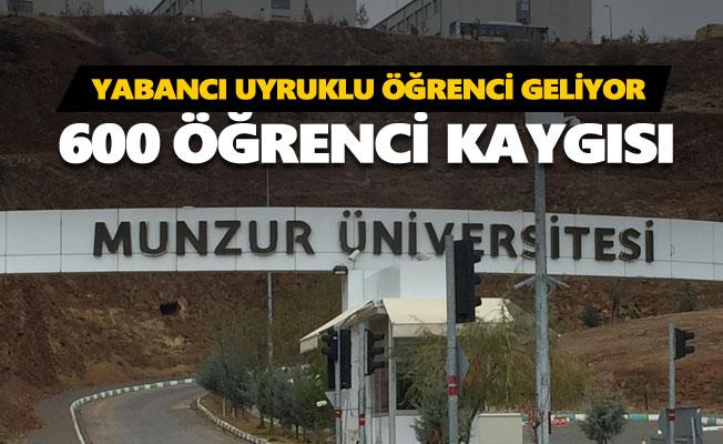 Ali Kenanoğlu: Dersim'e 600 yabancı uyruklu öğrenci geliyor
