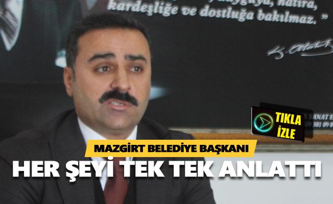 Mazgirt Belediye Başkanı: Kaymakamlık seçilmiş iradeye kayıtsız kalıyor