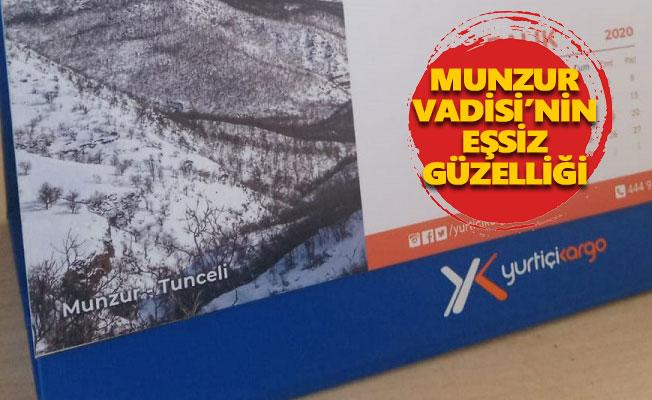 Munzur Vadisi, Yurtiçi Kargo'nun 2021 takviminde yer aldı