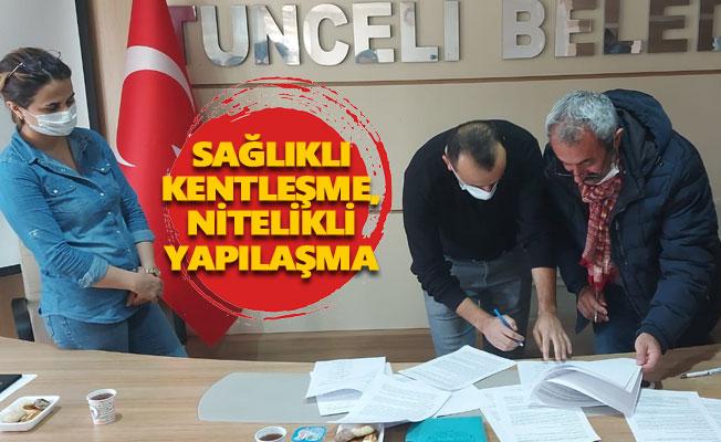 Belediye ile TMMOB arasında protokol imzalandı