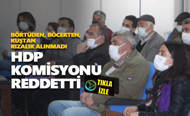 HDP, çöp tesisiyle ilgili kurulacak komisyona girmeyi reddetti