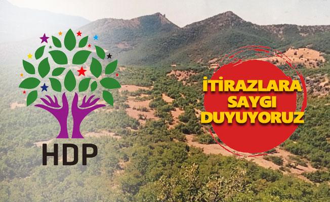 HDP'den çöp tesisi açıklaması