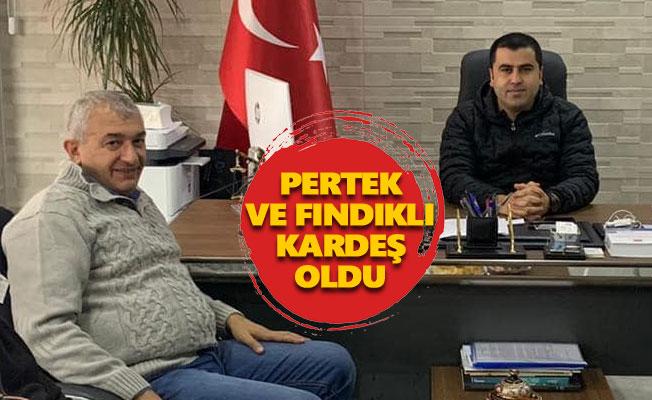 Pertek, Fındıklı Belediyesi ile 'kardeş belediye' oldu