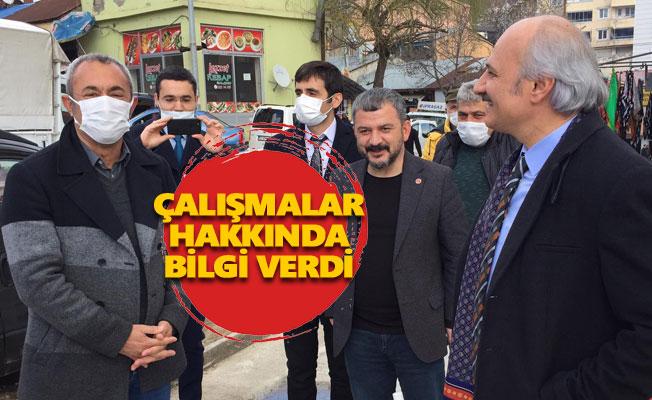 Saadet Partisi Parti Sözcüsü'nden Maçoğlu'na ziyaret