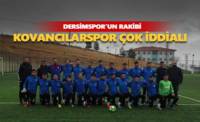 Dersimspor'un rakibi Kovancılarspor BAL'a iddialı hazırlanıyor