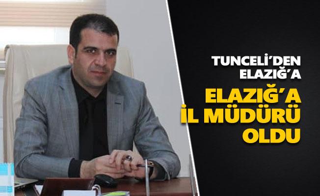 Ali Sait Çeçen Elazığ'a il müdürü oldu