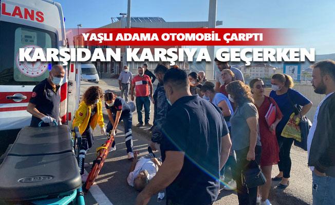 Atatürk Mahallesinde trafik kazası