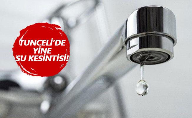 Su kesintileri hayatı olumsuz etkiliyor
