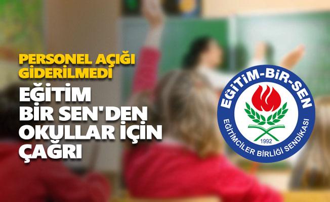 Eğitim Bir Sen'den okullar için çağrı