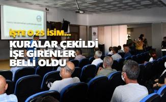Tunceli Belediyesi'nde işe alınan 25 kişi belli oldu