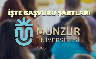 Munzur Üniversitesi yüksek lisans kadrolarını açıkladı