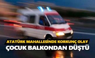 4 yaşındaki çocuk balkondan düşerek hayatını kaybetti