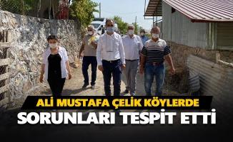 Ali Mustafa Çelik köylerde