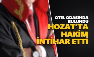Hozat'ta hakim intihar etti