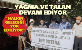 Munzur Özgür Aksın Meclisi: Yağma ve talan devam ediyor