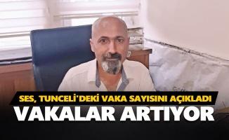 SES, Tunceli'deki vaka sayısını açıkladı