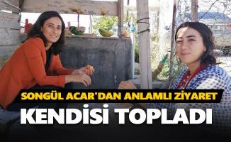 Songül Acar'dan anlamlı ziyaret