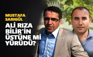 Mustafa Sarıgül, Ali Rıza Bilir'in üstüne mi yürüdü?