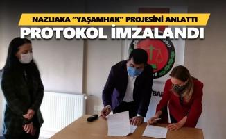 Aylin Nazlıaka Tunceli'de 100 partiliye rozet taktı