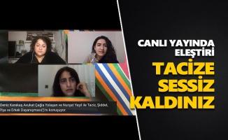Canlı yayında Dersim Kadın Platformu ve DAD'a eleştiri: Tacize sessiz kaldınız