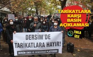 Dersim Emek ve Demokrasi Platformu: Ubeyde İpek bir an önce görevden alınmalı