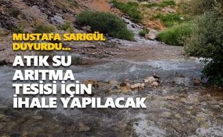 Ovacık'ta atık su arıtma tesisi için ihale yapılacak