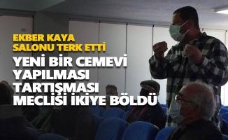 Dersim'de yeni bir cemevi yapılması tartışması meclisi ikiye böldü