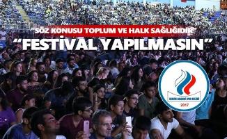 """Dersim Akademi Spor Kulübü'nden """"festival yapılmasın"""" çağrısı"""