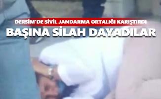Dersim'de sivil jandarmadan kadına şiddet