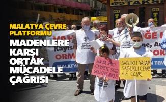 MALÇEP'ten madenlere karşı ortak mücadele çağrısı