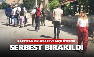 Hozat'ta gözaltına alınan Partizan okurları serbest bırakıldı