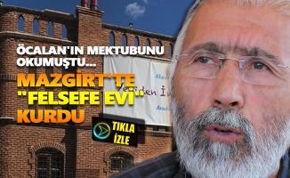 "Prof. Dr. Ali Kemal Özcan Mazgirt'te ""Felsefe Evi"" kurdu"