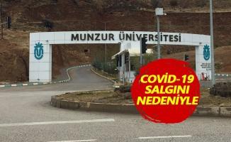 Munzur Üniversitesi'nden uzaktan eğitim kararı