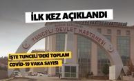 İşte Tunceli'deki toplam Covid-19 vaka sayısı