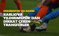 Dersimspor'un rakibi Karlıova Yıldırımspor'dan dikkat çeken transferler