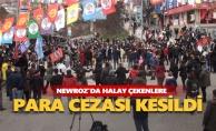Newroz'da halay çekenlere para cezası kesildi