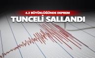 Tunceli#039;de deprem... Sallandık...