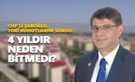 CHP'li Şaroğlu, TOKİ Konutlarını Sordu: 4 yıldır neden tamamlanmadı?