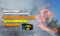Uzuntarla'da (Xozmerek) yangın